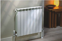 Nice Price Water Heating Aluminum Radiators 500mm home warmer korea/ukraine with high quality/chea price factory/manufacturer