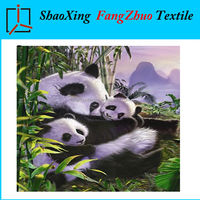Panda super soft queen plush polar fleece blanket 79*95inch