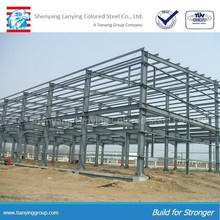 Steel space frame tube truss structure