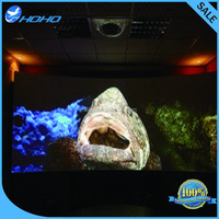 Grey Material and Adhesive Style Adhesive Rear Projection Film