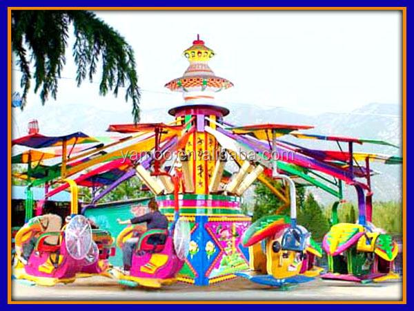 attractive theme park swing rides magic moon car magic. Black Bedroom Furniture Sets. Home Design Ideas