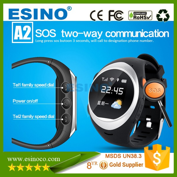GPS Alzheimers Watch Go Everywhere GPS Personal Tracker SOS GPS GSM Watch