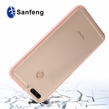 Ultra slim clear transparent tpu case for huawei honor v9, 8 pro acrylic phone case