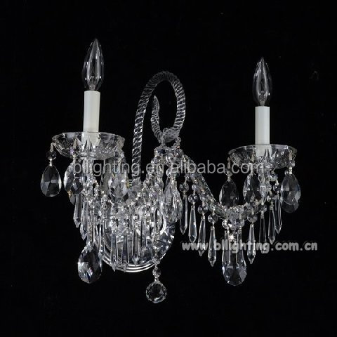 Beautiful Crystal decorative candle wall sconces