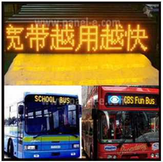 LANPAI outdoor advertising led display screen for bus ,car ,taxi