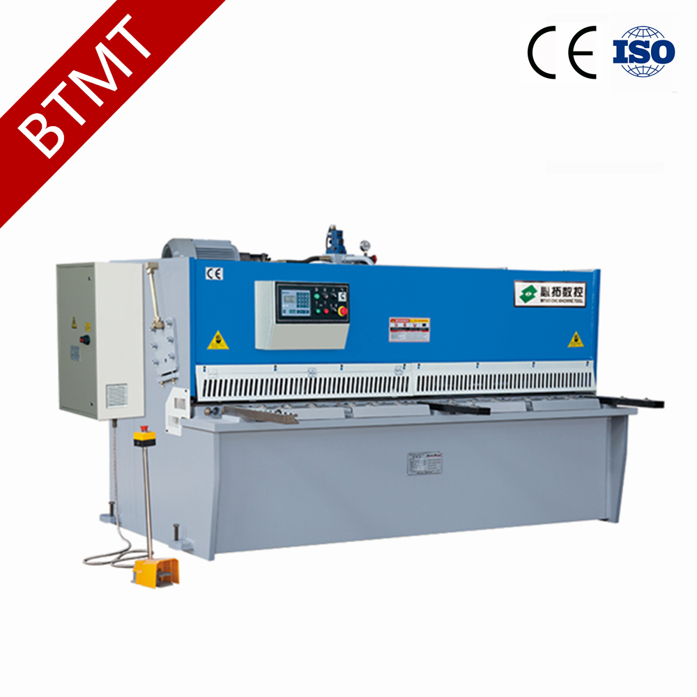 China Manufacturer QC12K Series battery plate cutting machine with CE certificate