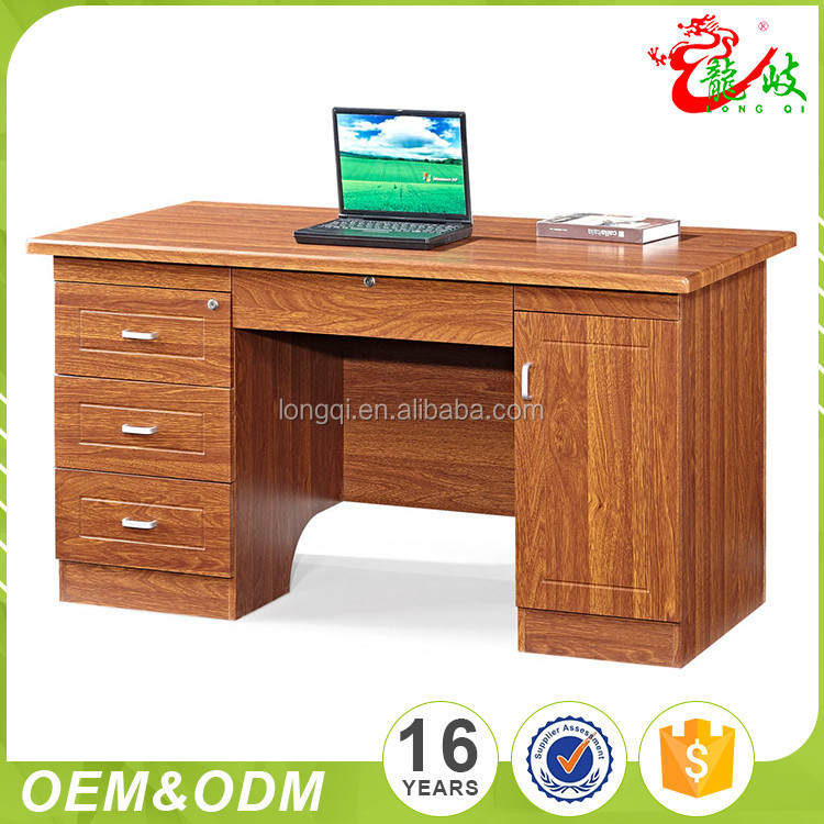 with pvc finish simple computer desk design office table with prices