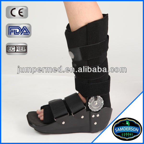 Air Pouches + ROM Walker Brace / medical leg brace