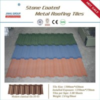 Metal roofing tile with Different Color