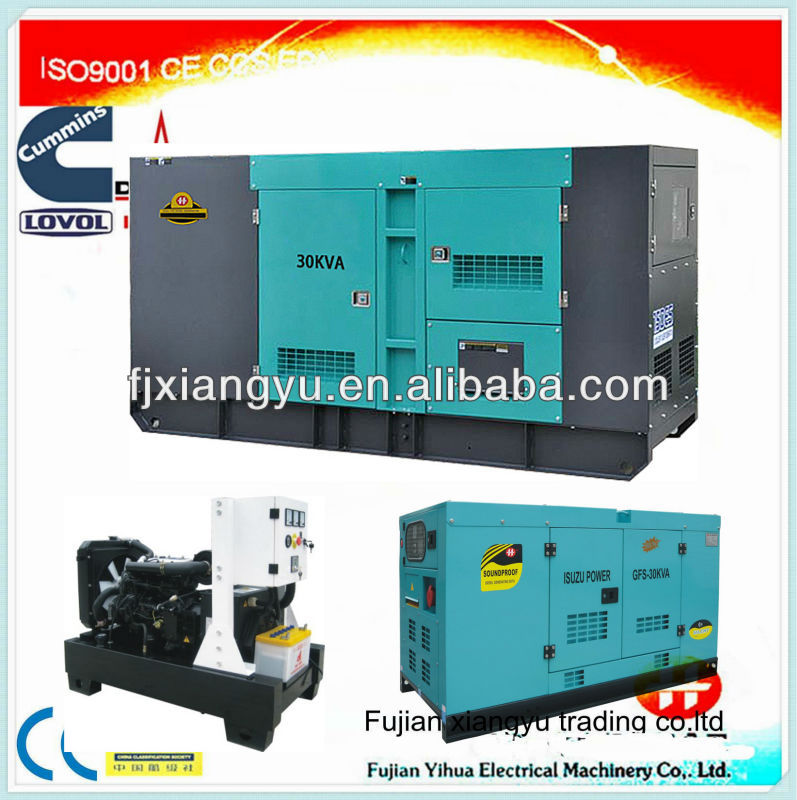 10Kva to 250kva soundproof diesel Airman Generator with Fire and Gas alarm