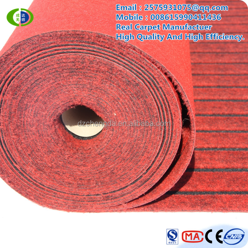 China Double color carpet used for hall which made in china Carpet manufacturers