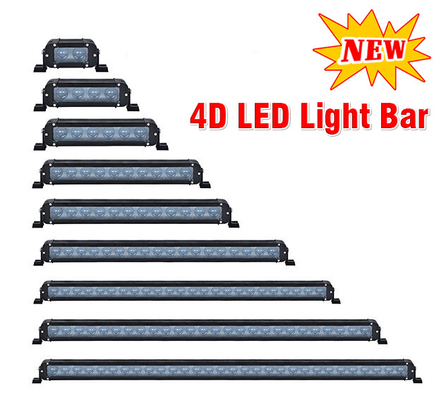 New products!! 4D led light bar offroad curved bar light 50 inch 288W led light bar