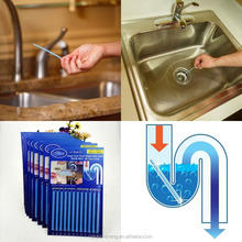 Portable Drain Cleaner Deodorizer Sani Sticks Kitchen Toilet Bathtub Drain Pipe Cleaning Sticks