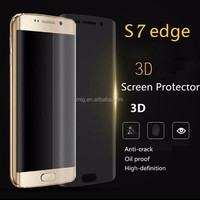 For Samsung galaxy S7 Edge HD Clear Soft PET Full Cover 3D curved screen protector for Samsung S7 edge