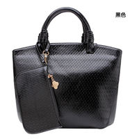 wholesale alibaba Retro style luxy black raschel bag with any color