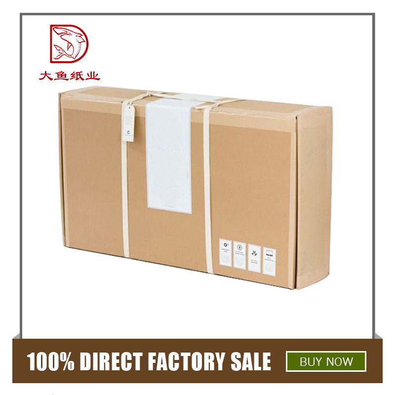 Bulk wholesale newest square packaging corrugated clothing box
