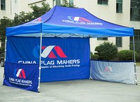 China - Flag - Makers [China's first resourse integration provider for ad textile printing] trade show pop up tent