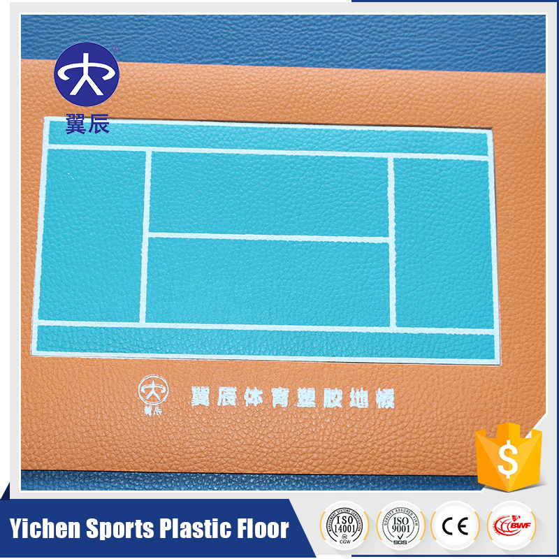 Stability Volleyball Court Used PVC sports Flooring