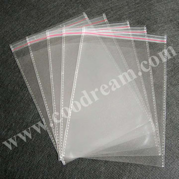 Opp plastic bag, transparent raw materials for cheap custom wholesale packaging biodegradable plastic clear opp bag