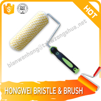 plastic and painting brush roller