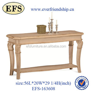 Hot selling solid wood bedroom furniture modern french white dressing table