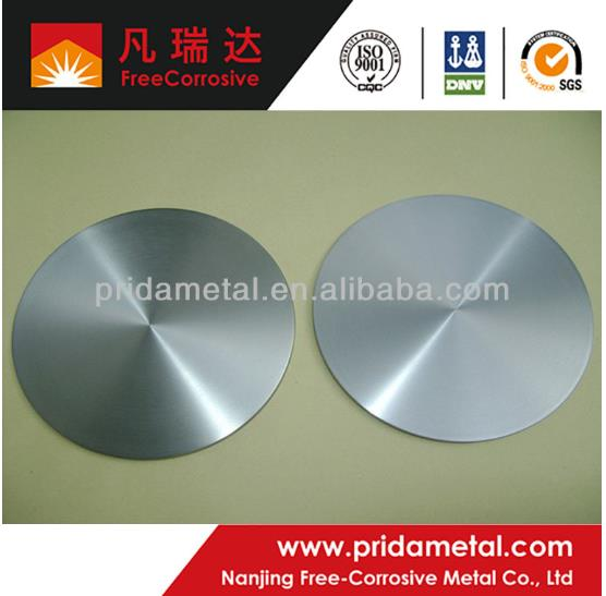 nickel alloy sputtering target hot sell