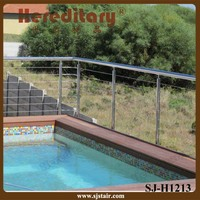 modern cheap deck stainless steel cable railing systems for pool fence