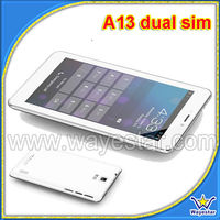 A13 7 inch Smart Phone Tablet PC Dual SIM GSM Quad Band Bluetooth WI-FI Two Cameras