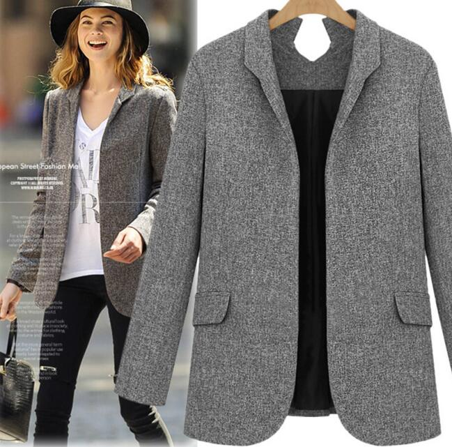Z82787B cheap ladies blazer designs sex women blazer jacket