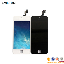 2017 AAA original pass replacement replacement parts assembly glass touch digitizer display lcd screen for iphone 5s