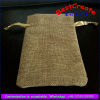 Top Quality Linen Drawstring pouch bags manufacturer with satin string