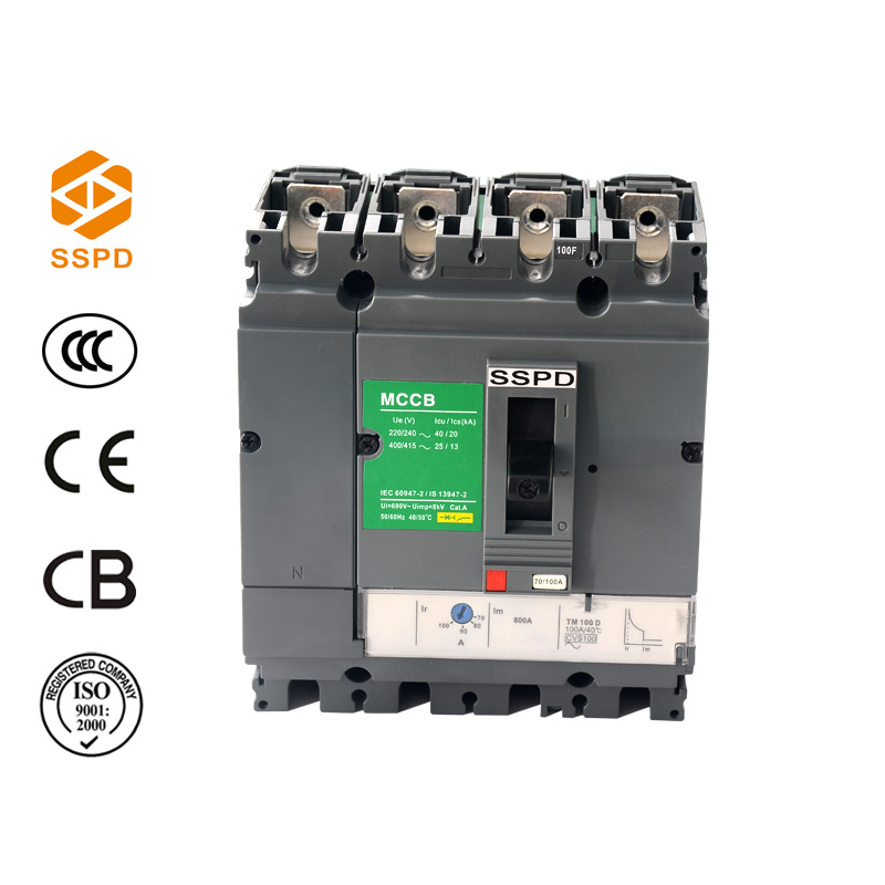 hot sale nsv cvs original 100amp 4 pole mccb manufacturer hydraulic japan european korea circuit