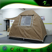 High quality canvas bell fabulous fun transparent camping tent