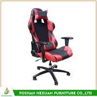 Fashion style red racing seat office chair