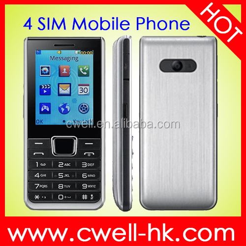 X152 4 SIM Card Mobile Phone Good Price cheap cell phone