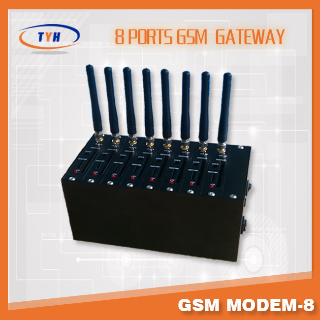 3g usb modem /Linux supported GSM modem 8 channels for bulk sending sms