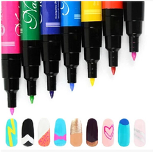 24 colors nail polish nail art pen