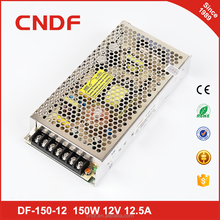 Factory outlet 150w dc regulated power supply IP20 single phase power supplier 12v led driver