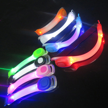 Night safety and glow in dark reflective armband