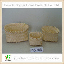 Wholesale Wicker Gift Packaging Woodchip Basket Supplies