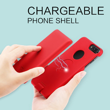 Universal portable smart custom rohs mobile phone wireless battery charger power case for iPhone 8 7