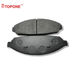 TOPONE Auto Brake Pads Manufacturers Wear Resistant Brake Pads for Ford Crown Victoria D931-7834