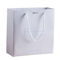 Custom made big paper shopping bags