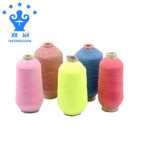 New product polyester rubber thread for socks