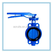 No-Pin Epoxy coating Wafer Handle Butterfly Valve