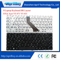 New replacement BR layout laptop keyboard for acer V5-471 V5-431