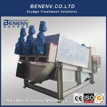 ISO9001 Certificated waste sludge dewatering system for water treatment