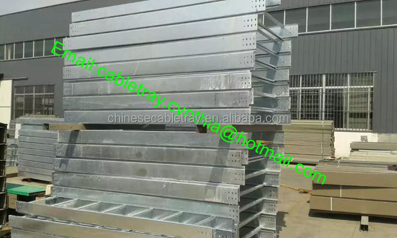 Hot dip galvanized ladder type cable tray straight cable tray, cable bends, cable tee and other accessories