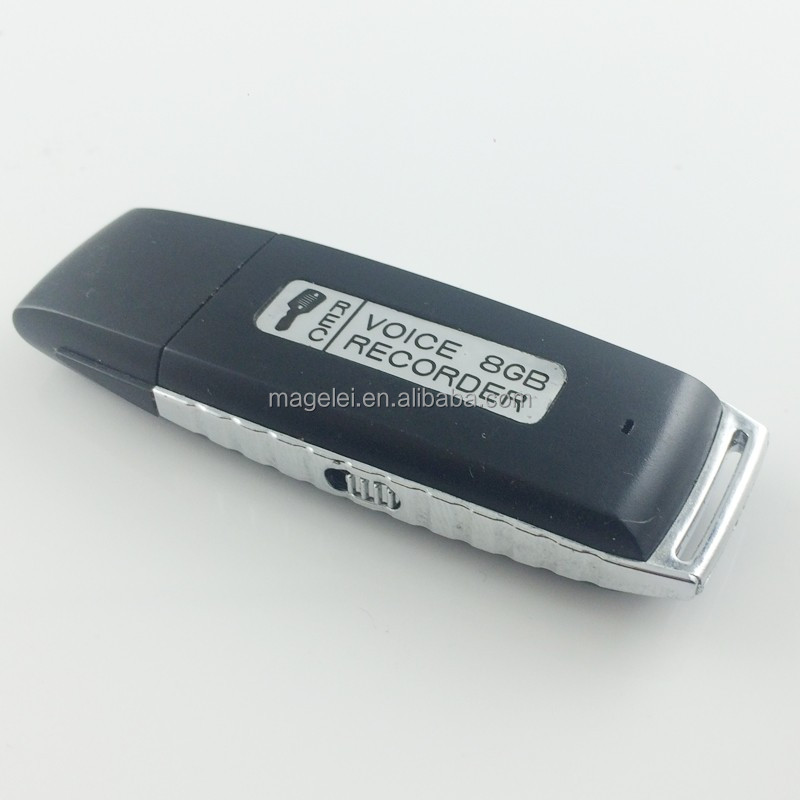 Long Battery Life 4GB 8GB Usb Flash Disk Micro hidden voice recorder