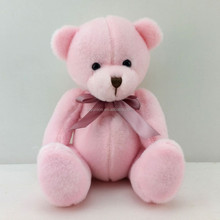 Keen price super cute pink color stuffed plush bear teddy